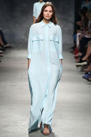 сукня-сорочка в підлогу