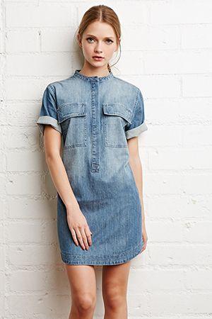джинсове плаття сорочка