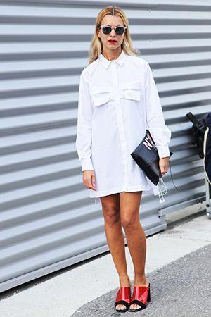 плаття сорочка білого кольору