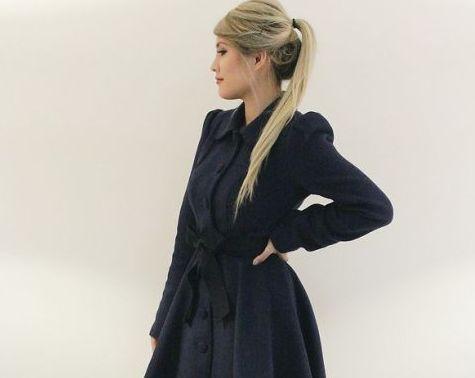З чим носити розкльошені пальто і виглядати елегантно і жіночно