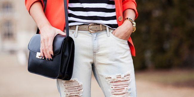 З чим носити рвані джинси: принципи підбору комплектів