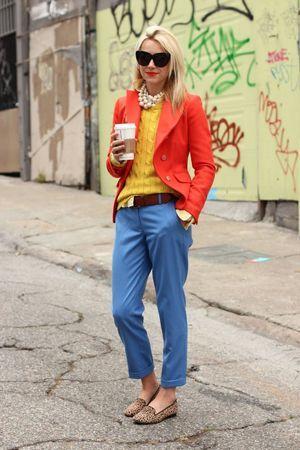 брюки з жакетом