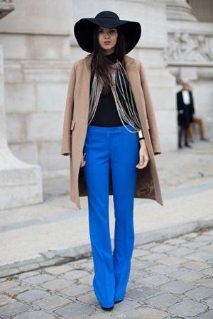 брюки з пальто