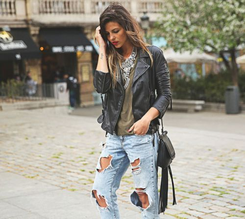 Секрети вуличного стилю - з чим носити рвані джинси