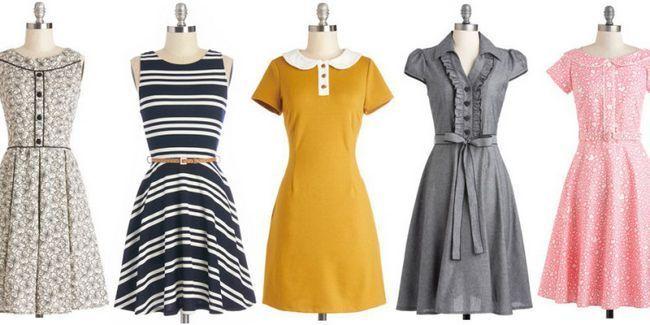 Скромні повсякденні сукні, або як виглядати стильно кожен день