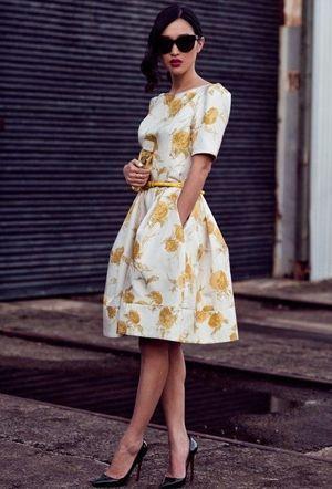 біле літнє плаття
