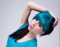 Сучасне фарбування волосся двома кольорами