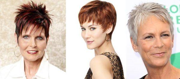 Стрижки на коротке волосся для жінок 40 років