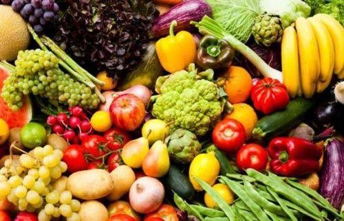 яскраві овочі