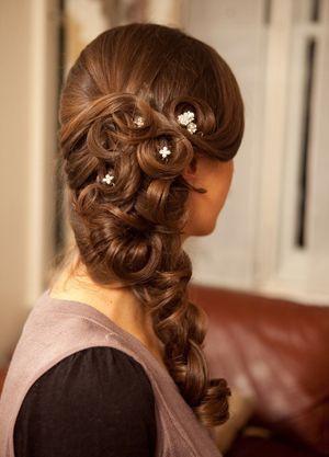 вечірні зачіски