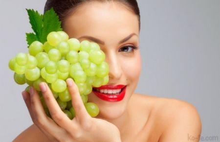 Виноградна олія для обличчя