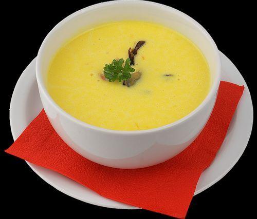 Смачний сирний суп - ніжне блюдо на кожен день