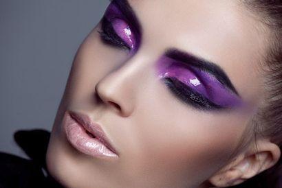мокрий макіяж очей