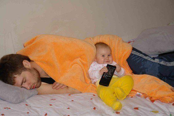 Вплив телебачення на маленьких дітей