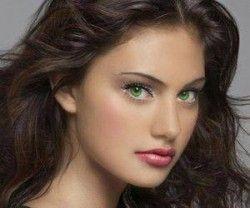 Вибір кольору волосся для зелених очей