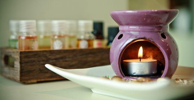 ароматерапія з ефірними маслами