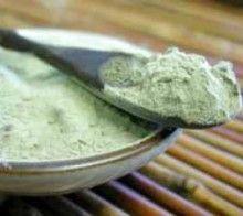 Зелена глина в косметології