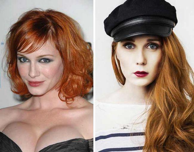 Зірки, яким вогненно-мідний колір волосся додає яскравість і сексуальність